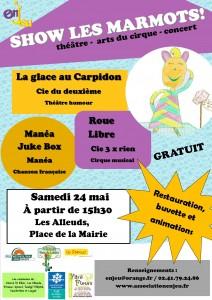 Show les marmots - mai 2014